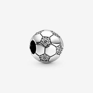 Pandora Sparkling Soccer Charm